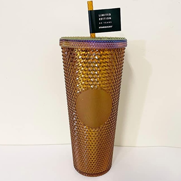 Starbucks Limited Edition 2021 50th Anniversary Copper Studded Tumbler